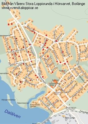 Karta Borlange.Varens Stora Loppisrunda I Honsarvet Borlange Loppis I Borlange